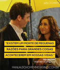 Frase motivacional sobre acontecimentos da vida. How I Met Your Mother, Ted Mosby. Ted Mosby, Tracy Mosby, How I Met Your Mother, Ted And Tracy, Life Is Hard, Of My Life, Comedy Memes, Himym, Mother Quotes