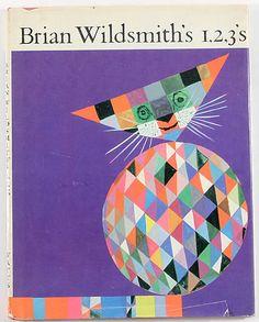 BRIAN WILDSMITH'S 1, 2, 3 by BRIAN WILDSMITH,  1965  #numbers  #números  #children's books  #libros infantiles