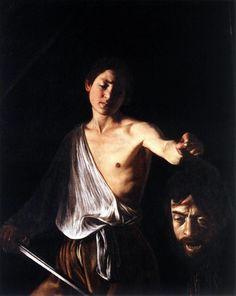 Caravaggio David with the Head of Goliath 1609-10