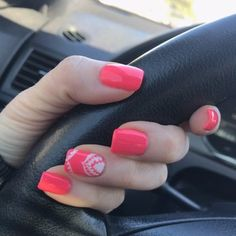 You sure you love your nails,you're always looking for new and unique styles, inspiring photos that you can see below with a brilliant nail art designs which you can use it for your,everyday lifestyle. Beautiful Nail Art, Gorgeous Nails, Coral Nails, New Nail Art, Nail Arts, Simple Nails, Manicures, You Nailed It, Nail Art Designs
