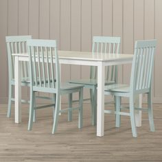 Beachcrest Home Indian Harbour 5 Piece Dining Set & Reviews | Wayfair