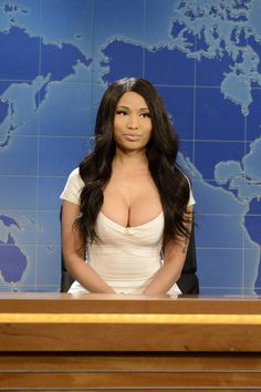 Watch Nicki Minaj impersonate Kim Kardashian on Saturday Night Live, here:
