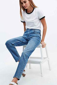 BDG Girlfriend Jeans in Light Blue £55