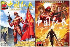 China gets their own comic book superhero, Captain China