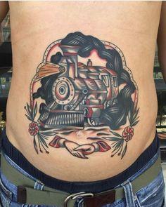 #tattoo by @dongeko_tattooer #tattoos #tattooart #tradition #traditional #colortattoo