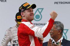 La gioia di Sebastian #Vettel