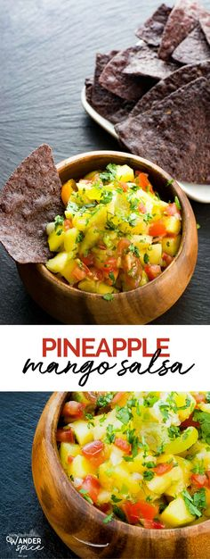Pineapple Mango Sals