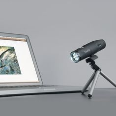 Satiate your scientific curiosity with this handheld wireless microscope, which has a multi-level polarizer that magnifies objects up to 200x optically and 600x digitally. This amazing device also takes pictures and captures videos. It also wirele...