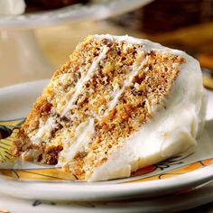 Best Carrot Cake -     We're not lying when we say this is the best. Layers of delicious carrot cake are moistened with a Buttermilk Glaze and topped off with a sweet Cream Cheese Frosting.