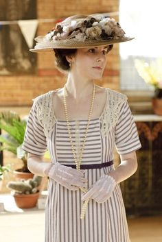 One of my very fave Downton Abbey designs by Caroline McCall
