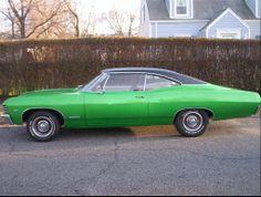 1967 Chevy Impala. Oh heavens! :)