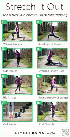 19. #Stretch before #Running - 20 #Infographics for Stretching That'll Make You #Super Bendy in 2 #Weeks ... → #Health #Split