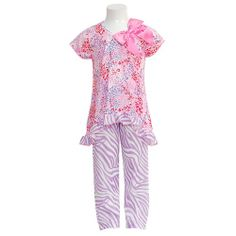 "These are just the kind of Laura Dare pajamas Maddie wears in ""Pictures for Maddie."""