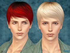 Cazy's Joey Hairstyle - Set