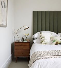 The material palette was pared back neutral but warm and organic. Master Bedroom Design, Home Bedroom, Bedroom Decor, Bedrooms, Apartment Design, Interiores Design, Home And Living, Interior Architecture, Decoration