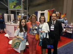 At our Booth 1441 - Study in Portugal! At the NAFSA Conference! !