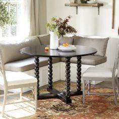 Bixby Spool 48' Dining Table   Ballard Designs