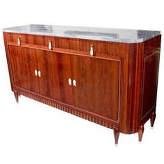 Exceptional Art Deco Rosewood Buffet by Christian Krass