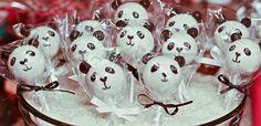 Panda cake pops.