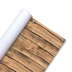Outdoor Balkonafscheiding 'Ruwe Planken' - 200 x 90 cm Pin from www.vtwonen.be