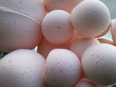 14 bath bombs in Amazing Grace type fragrance, gift bag bath fizzies, great for dry skin with shea, cocoa, 7 ultra rich oils