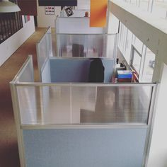 You have infinite ideas, we provide infinite possibilities. Cubicle Partitions for any office space. Cubicle Walls, Office Cubicle, Cubicle Partitions, Cubicle Design, Electric Standing Desk, Portable Room Dividers, Privacy Panels, Office Workstations, Study Areas