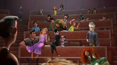 they should just totally make a TV series where all of the teenagers from Disney movies have to go to high school or college together...I would watch it all the time :)