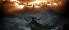 There's a moment in the newest Thor: Ragnarok trailer that suggests something fascinating about the future of the Marvel Cinematic Universe. As Hela. Ms Marvel, Marvel Dc Comics, Captain Marvel, Marvel Avengers, Marvel Gif, Thor Ragnarok Hela, Hela Thor, Loki Thor, Mark Ruffalo