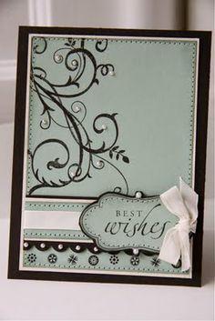 Craft - Stampin Up Baroque Motifs