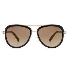 7b9abcf4de77 Tommy Hilfiger TH2524-C2 Golden Black Frame With Golden Mirror Unisex  Aviator Sunglasses #TommyHilfiger