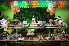 festa mickey safari - Pesquisa Google