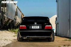 BMW E36 M3 black stance