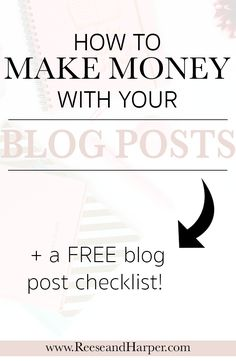 In order to make money as a blogger there are a few things your blog posts need to have in them. Check out this guide for 7 things you must be including in each of your blog posts if you want to start monetizing your blog.