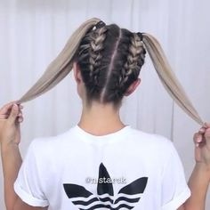 "51.2k Likes, 713 Comments - Hair Place (@hair.place) on Instagram: ""Cute Hair By @n.starck • TAG 3 FRIENDS!!! Follow: @hair.place ❣ Follow: @hair.place ❣ Follow:…"" #ad"