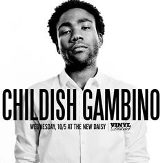 Alias: Donald Glover ;) ha