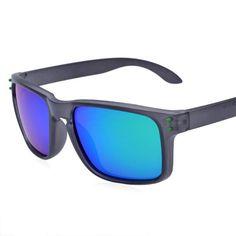 FuzWeb:TenLon Classical O k mens polarized sunglasses lentes de sol hombreoculos sol feminino anti UV-400 gift PU case