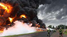 Wittenberge: Blitz löst Großbrand im Dämmstoffe-Werk aus | svz.de