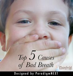 Plainfield Dental Care: The Top 5 Causes of Bad Breath