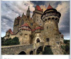 Beautiful Castle Kreuzenstein, Leobendorf, Austria