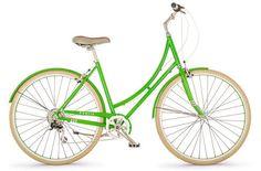 Cute Emerald Green Bike!!!  I want one!