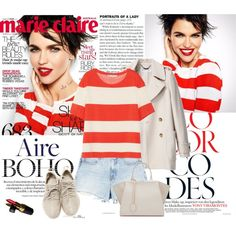 How To Wear Put some red lipstick on Outfit Idea 2017 - Fashion Trends Ready To Wear For Plus Size, Curvy Women Over 20, 30, 40, 50