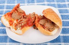 Slow Cooker Heavenly Meatball Sliders - Title says it ALL!  Heavenly!  Crowd Pleaser! www.GetCrocked.com