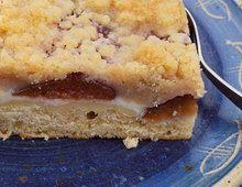 Pflaumenkuchen vom Blech mit Zimtstreuseln