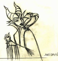 Marc Davis's Maleficent