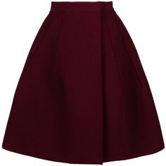 McQ 3/4 length skirt (€420) ❤ liked on Polyvore featuring skirts, bottoms, saias, юбки, maroon, mcq by alexander mcqueen, purple skirt, wrap skirt and maroon skirt