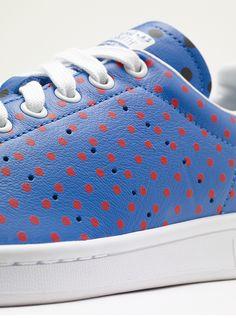 """0098473780e00 Pharrell Williams x adidas Stan Smith """"Polka Dot"""" Packs Stan Smith Sneakers"""