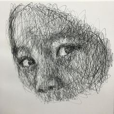 Charcoal on canvas / Hom Nguyen