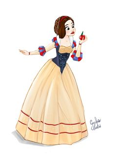 Snow White, German fashion (Disney's Snow White And The Seven Dwarves)