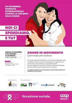 Il 25 novembre torna Donne in movimento in occasione della Giornata internazionale contro la violenza sulle donne