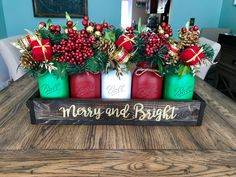 A personal favorite from my Etsy shop https://www.etsy.com/listing/539770642/rustic-christmas-decor-rustic-christmas